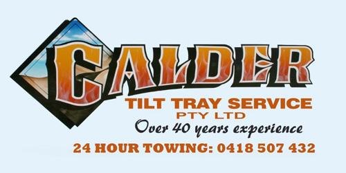 Calder Tilt Tray Service